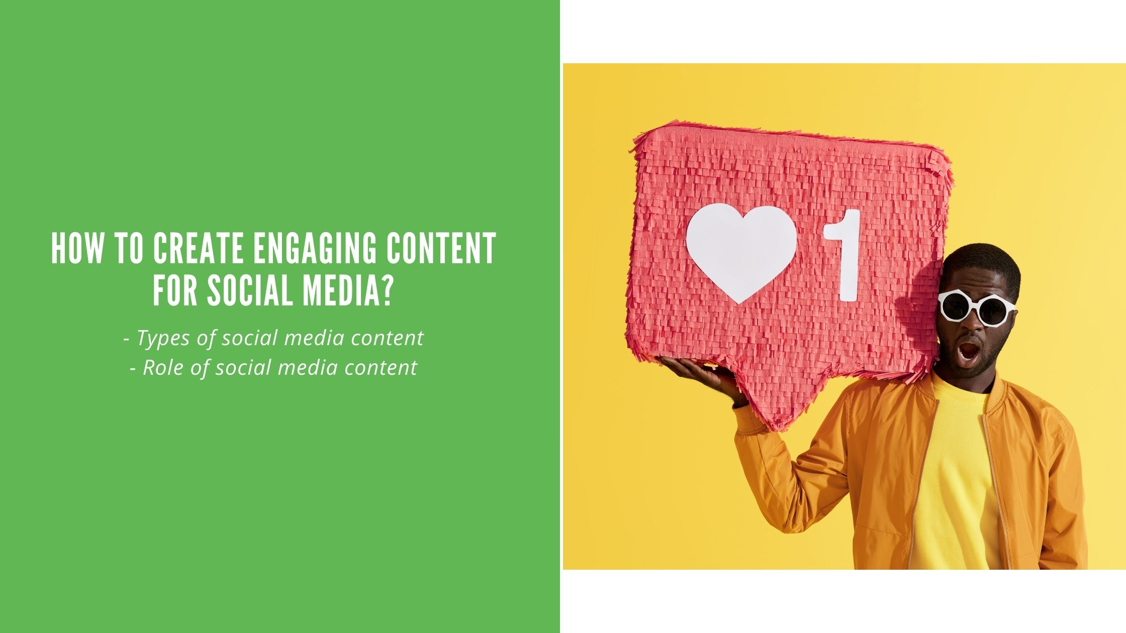 How to create engaging content for social media?